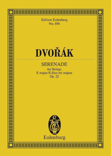 Serenade for strings in E Major op.22 image